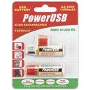 Batteria Ricaricabile AA Stilo USB NiMH / Oem / IBT K1450U