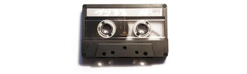 cassette audio industriali